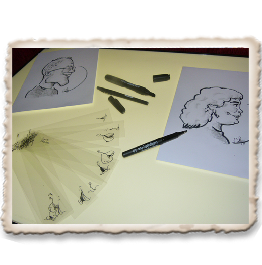 atelier animation caricature